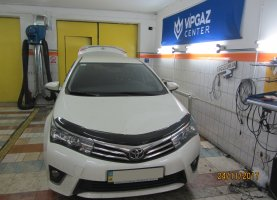 Установка ГБО на Toyota Corolla 1.3