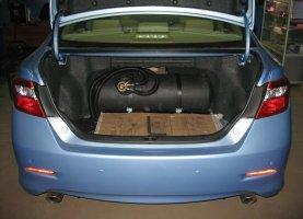Установка ГБО на Toyota Camry 3.5
