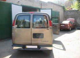 Chevrolet Express Explorer (beige)