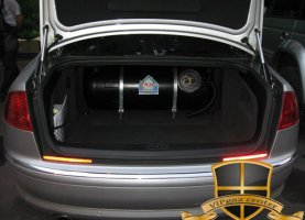газ на AUDI A8