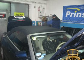 Audi A4 Cabriolet на газу