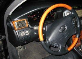 Lexus LS430 на газу