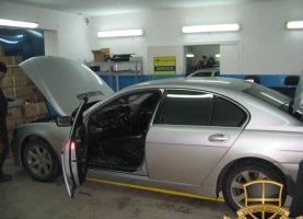 BMW 740 с гбо