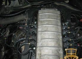 BMW 740 на газе