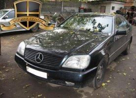 гбо на Mercedes Benz CLS 500