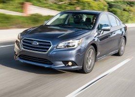 Газ на Subaru Legacy