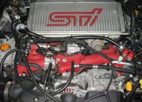 Subaru Impreza WRX STI на газе