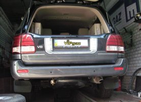 Lexus LX470 на газу