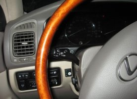 Lexus LX470 с гбо