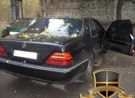Mercedes Benz CLS 500 с гбо