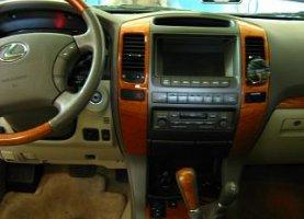 газ на Lexus GX470