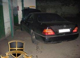 Mercedes Benz CLS 500 на газу