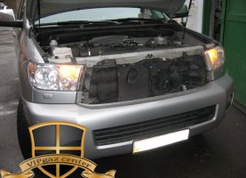 Toyota Sequoia V8 5.7 с гбо