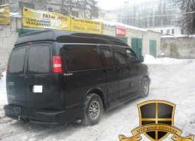 Chevrolet Express Explorer с гбо