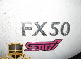 Infiniti FX50 (white) с гбо