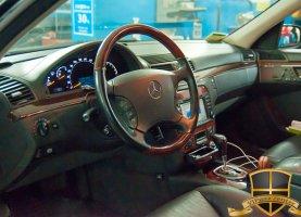 Mercedes-Benz S550 на газе