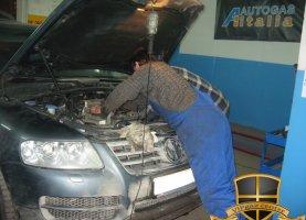 газ на Volkswagen Touareg