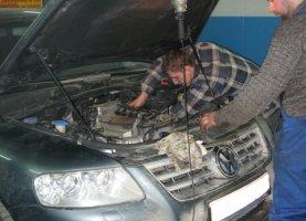 Volkswagen Touareg на газу