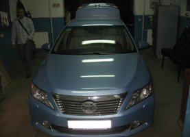 гбо на Toyota Camry 3.5 (2012)