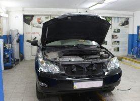 ГБО на Lexus