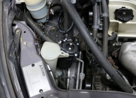 Газ на Mitsubishi: фото установки