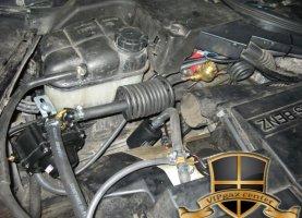 газ на Mercedes Benz CLS 500