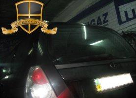 Subaru Forester на газу