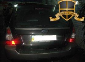 Subaru Forester с гбо
