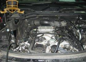 Мерcедес-Бенз ГЛ-450 на газе