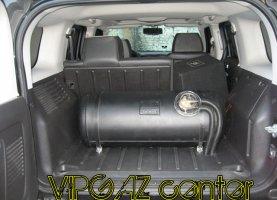 Hummer H3 на газу