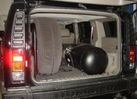 Hummer H3 на газе