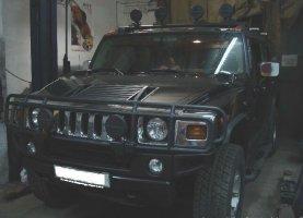 гбо на Hummer H3