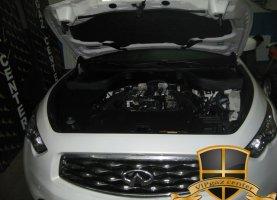 Infiniti FX50 (white) на газу