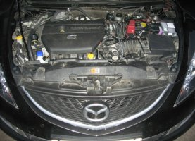 Mazda 6 на газе