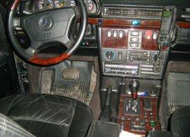 Mercedes-Benz G500 на газе