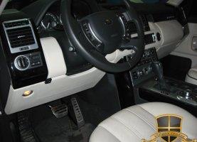 гбо на Range Rover Supercharged 2011