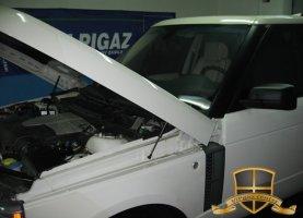 Range Rover Supercharged 2011 на газе