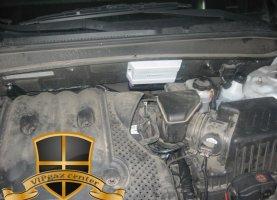 Hyundai Santa Fe на газу