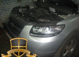 Hyundai Santa Fe на газе