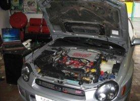 Subaru Impreza WRX STI с гбо