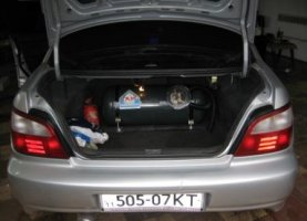 гбо на Subaru Impreza WRX STI