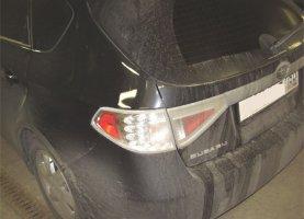 гбо на Subaru Impreza