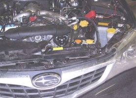 Subaru Impreza на газу