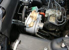 Subaru Black на газу