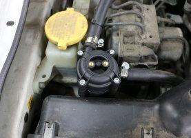 Фото установки ГБО на Subaru