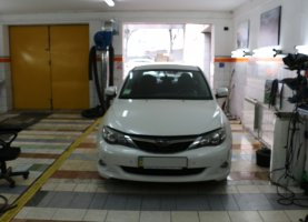 гбо на Subaru White