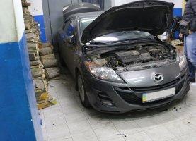 гбо на Mazda 3 Grey