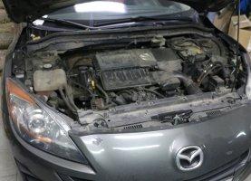 газ на Mazda 3 Grey