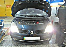 Общий вид на Renault Laguna