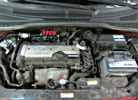 Hyundai Getz 1,6 на газу